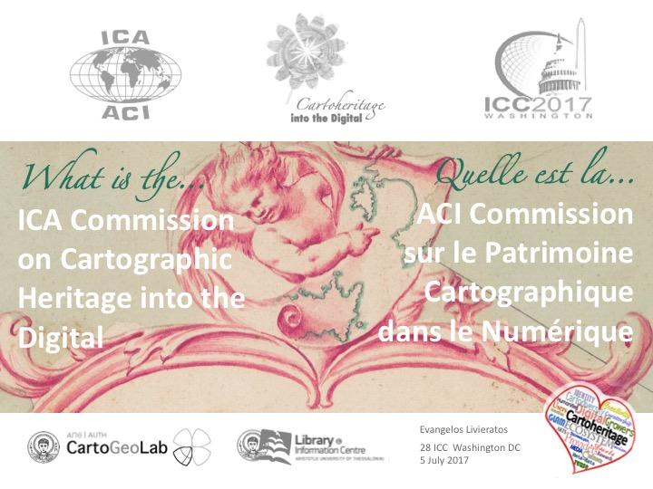 International Cartographic Association Commission on Cartographic